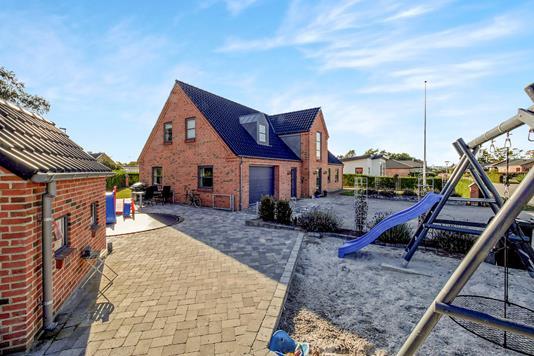 Villa på Rugvangen i Allingåbro - Ejendommen