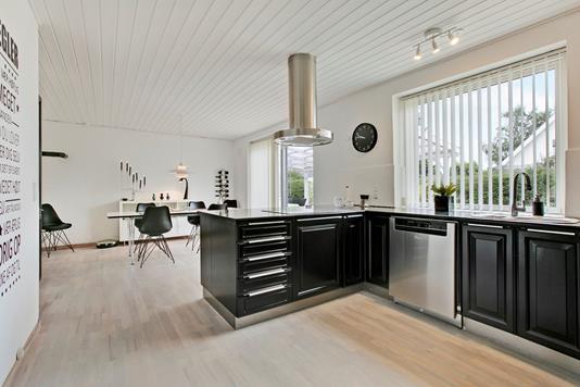 Villa på Vestervænget i Auning - Køkken