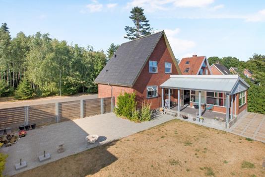Villa på Park Alle i Ryomgård - Ejendommen