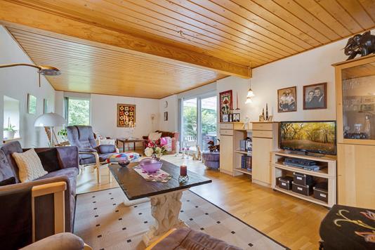 Villa på Askevej i Ryomgård - Stue