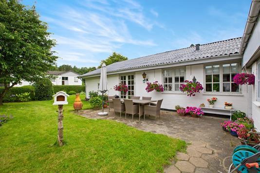 Villa på Thorsagervej i Ryomgård - Ejendommen