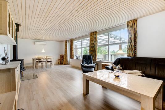 Villa på Vesterågade i Kolind - Stue