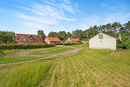 Helårsgrund på Storegade i Ryomgård - Grund