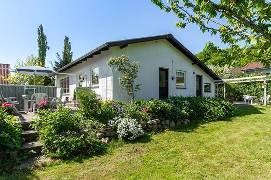 Villa på Grethesvej i Brabrand - Set fra haven