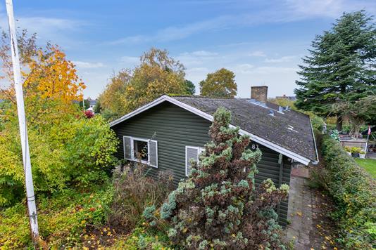 Villa på Herredsvej i Aarhus V - Set fra haven