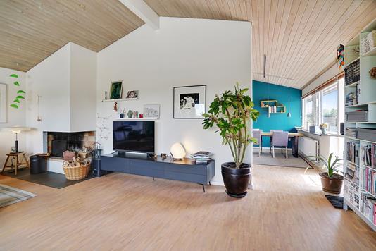 Villa på Junivej i Aarhus V - Stue