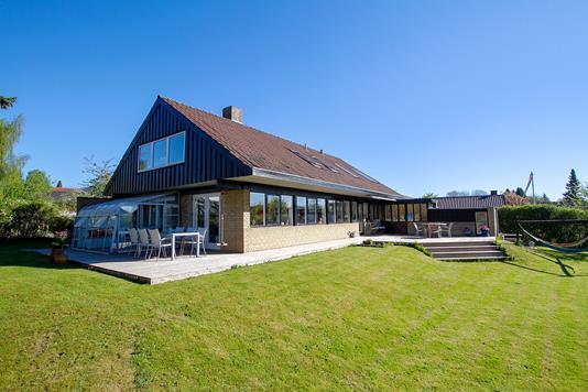 Villa på Klokkerfaldet i Aarhus V - Set fra haven
