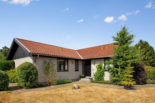 Villa på Novembervej i Aarhus V - Set fra haven