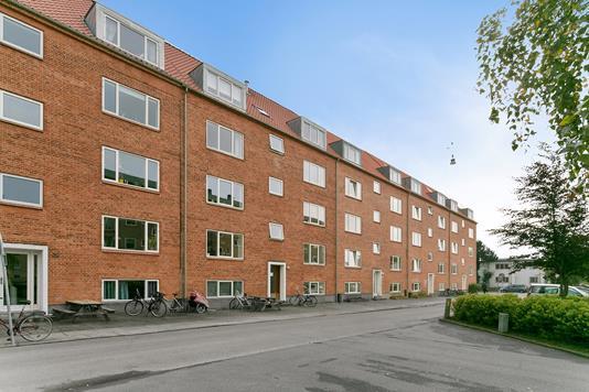 Andelsbolig på Silkeborgvej i Aarhus C - Facade