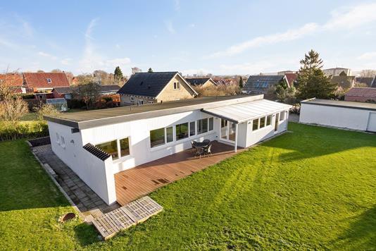 Villa på Stejlagervej i Aarhus V - Set fra haven
