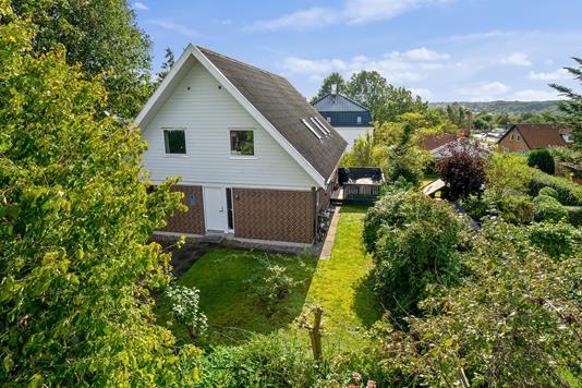 Villa på Stenbækvej i Brabrand - Set fra haven