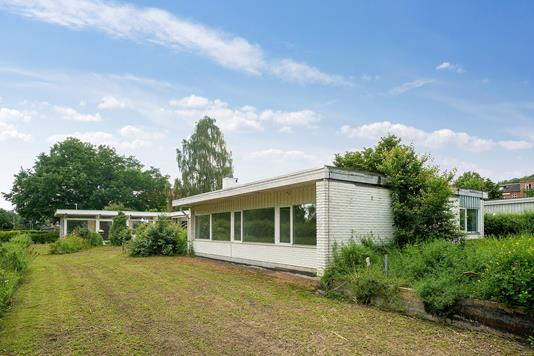 Villa på Søparkvej i Brabrand - Set fra haven
