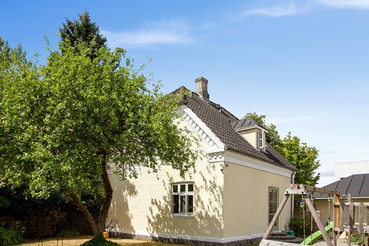 Villa på Haslegårdsvænget i Aarhus V - Set fra haven
