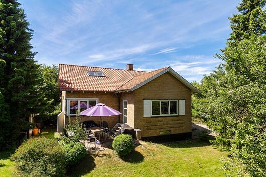 Villa på Åbyhøjvej i Aarhus V - Set fra haven