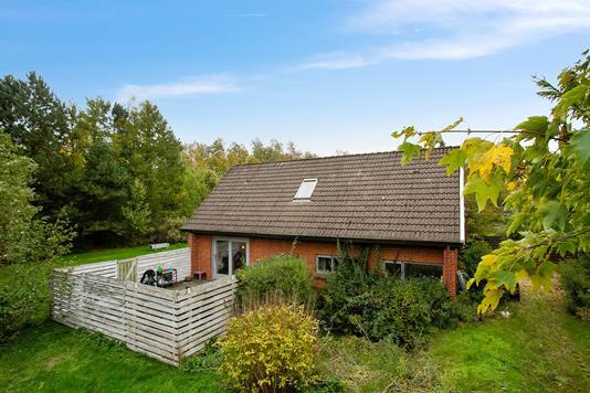 Villa på Februarvej i Aarhus V - Set fra haven