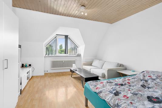 Ejerlejlighed på Arnegårdsvej i Åbyhøj - Soveværelse