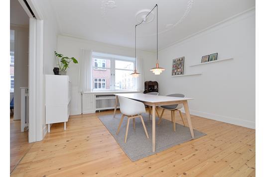 Ejerlejlighed på Mejlgade i Aarhus C - Spisestue