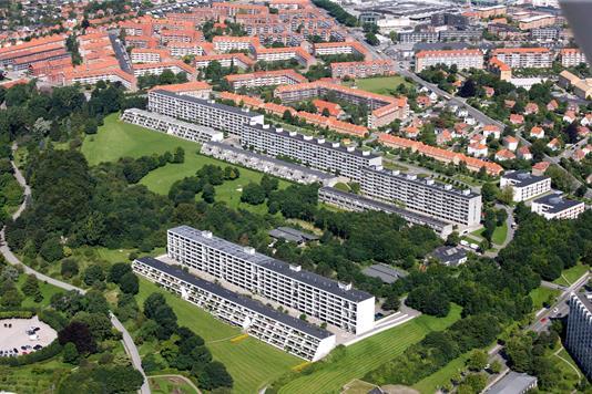 Ejerlejlighed på Vestervang i Aarhus C - Område