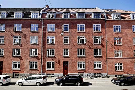 Ejerlejlighed på Jerichausgade i Aarhus C - Facade