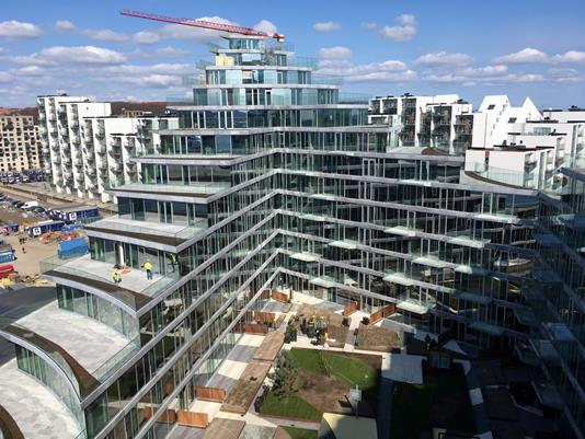 Ejerlejlighed på Irma Pedersens Gade i Aarhus C - Gårdhave