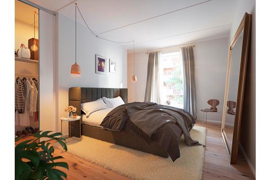 Ejerlejlighed på Valdemarsgade i Aarhus C - Soveværelse