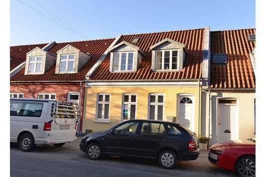 Villa på Skt. Anna Gade i Aarhus C - Facade