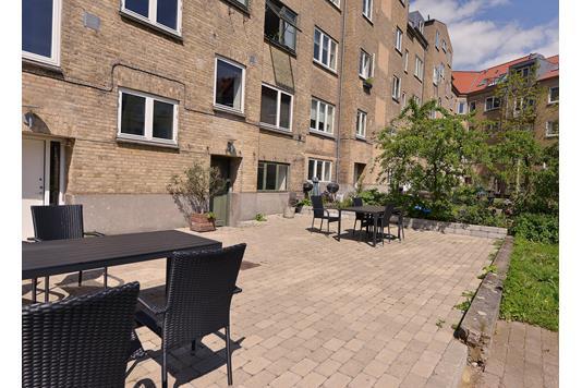 Ejerlejlighed på Langelandsgade i Aarhus N - Gård