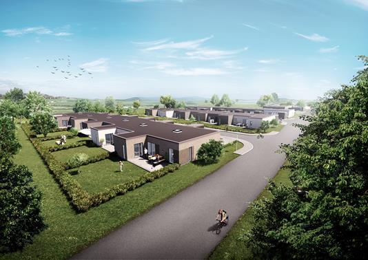 Rækkehus på Hjortevej i Randers SØ - Projekt