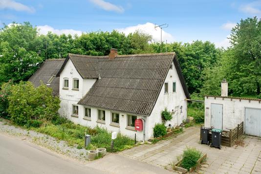 Villa på Rigtrupvej i Hadsten - Mastefoto