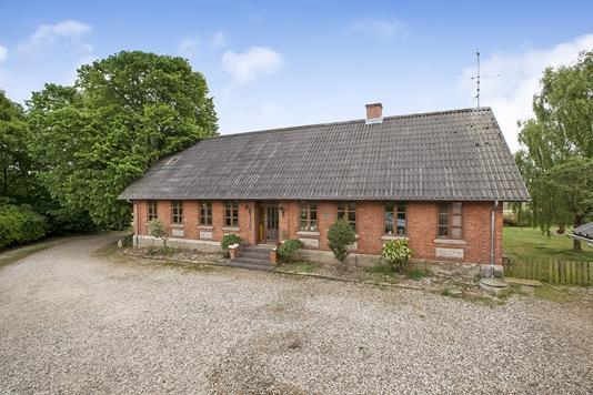 Villa på Hammelvej i Langå - Ejendommen
