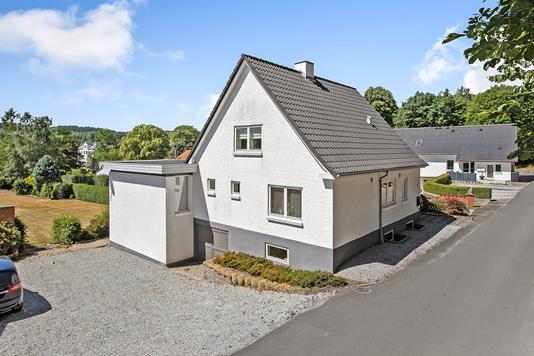 Villa på Ådalsvej i Langå - Ejendommen