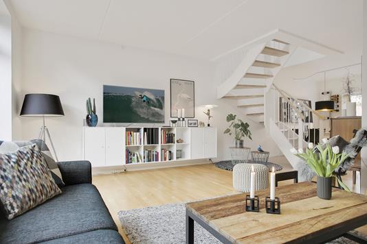 Villa på Strandhaven i Vallensbæk Strand - Stue