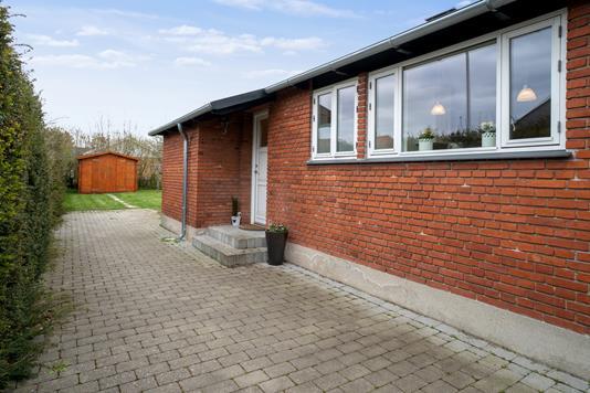 Villa på Hedegrænsen i Brøndby - Terrasse