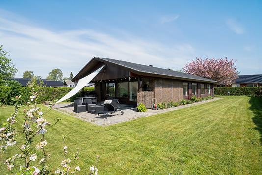 Villa på Nørrebred i Vallensbæk - Set fra haven