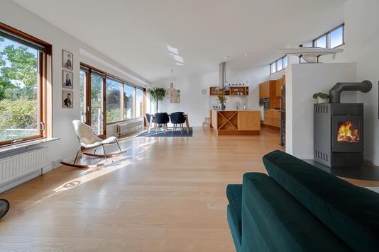 Villa på Risingevej i Vallensbæk Strand - Stue