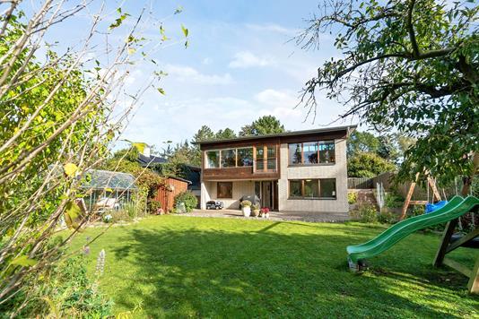 Villa på Risingevej i Vallensbæk Strand - Set fra haven
