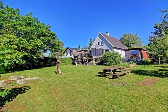 Villa på Solrød Byvej i Solrød Strand - Have