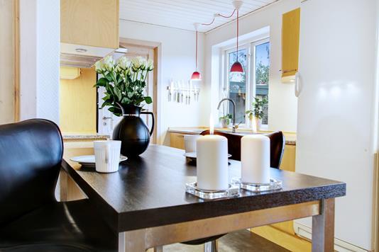 Villa på Hedevænget i Havdrup - Spisekøkken