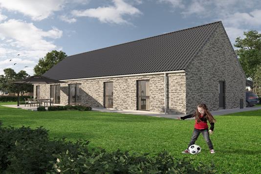 Villa på Nørregade i Tune - Ejendommen