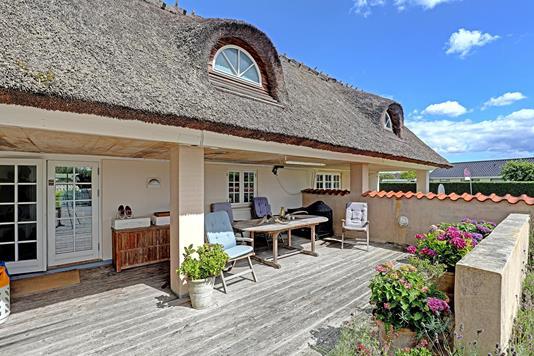 Villa på Boghvedemarken i Solrød Strand - Terrasse