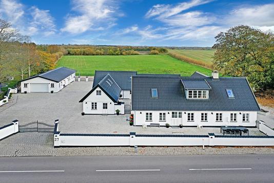Villa på Ramsølillevejen i Gadstrup - Luftfoto