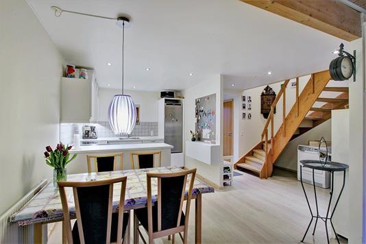 Villa på Græshave Alle i Havdrup - Køkken