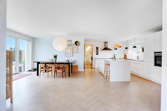 Villa på Rørvænget i Havdrup - Køkken