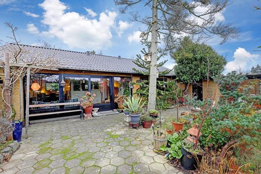 Villa på Jagtvej i Solrød Strand - Terrasse