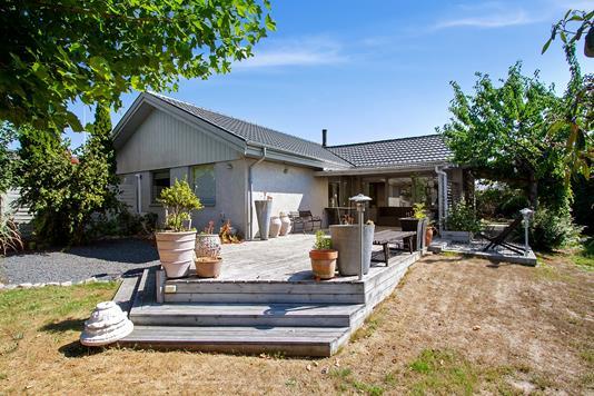 Villa på Maglekærvej i Solrød Strand - Set fra haven