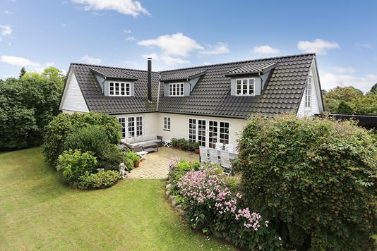 Villa på Skovvej i Havdrup - Ejendommen