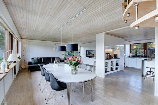 Villa på Gøgevænget i Havdrup - Stue