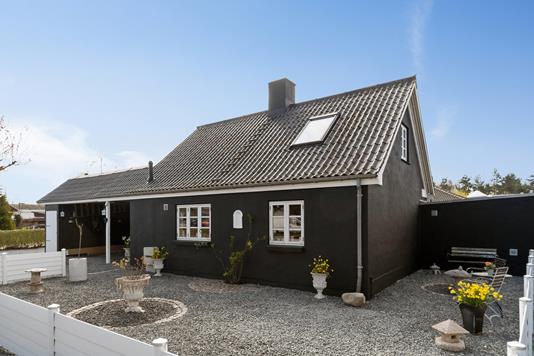 Villa på Gammel Lyngvej i Køge - Set fra vejen