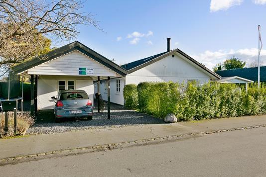 Villa på Østrupvej i Køge - Ejendommen