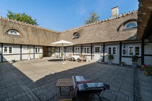 Villa på Ølbyvej i Køge - Set fra haven